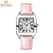 EYKI Fashion Women's Quartz Wristwatches Girlfriend Watch Two Size Waterproof Leather Strap  Relogios Feminino Reloj Mujer Clock shhors 2015 10m eyki reloj hombre 10000301