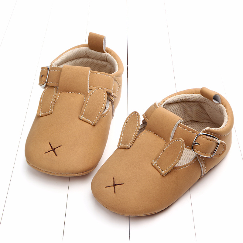 Baby First Walkers Matte leather Shoes for Baby Girl Boy Cartoon Animal Newborn Slippers Footwear Booties Kids Gift Child Shoes (29)