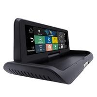 4G GPS Android 5.1 WiFi Bluetooth 4G SIM Card Dashboard GPS 1080P DVR Dual Lens Rear View Camera Video Recorder