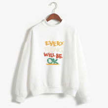 Women Letters Hoodies Autumn And Winter Long Sleeve Printed Letters Tracksuit Casual Women