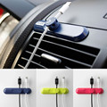 Fashion charger cable wire line cord Magnetic suction winder organizer Management for Car desk wall PVC material