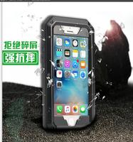 R JUST Luxury Doom Armor Dirt Shock Metal Aluminum Cell Phone Case For Iphone 8 7