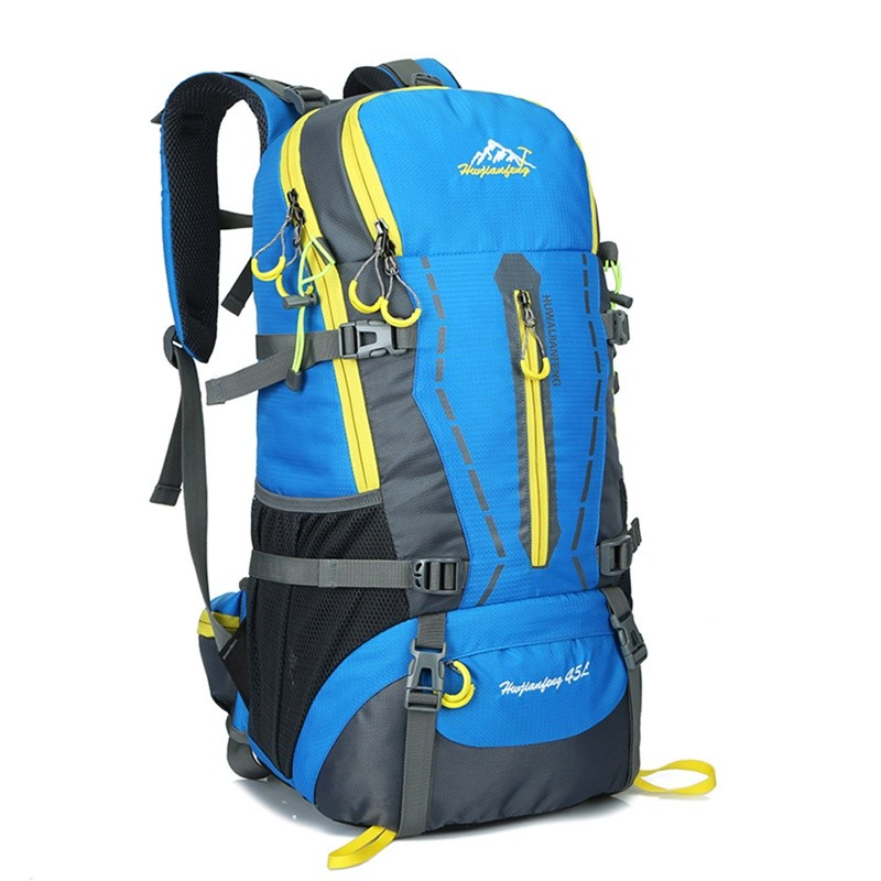b973deb5f51 Climbing Backpack 40L+5L Large Capacity Outdoor Waterproof Oxford ...