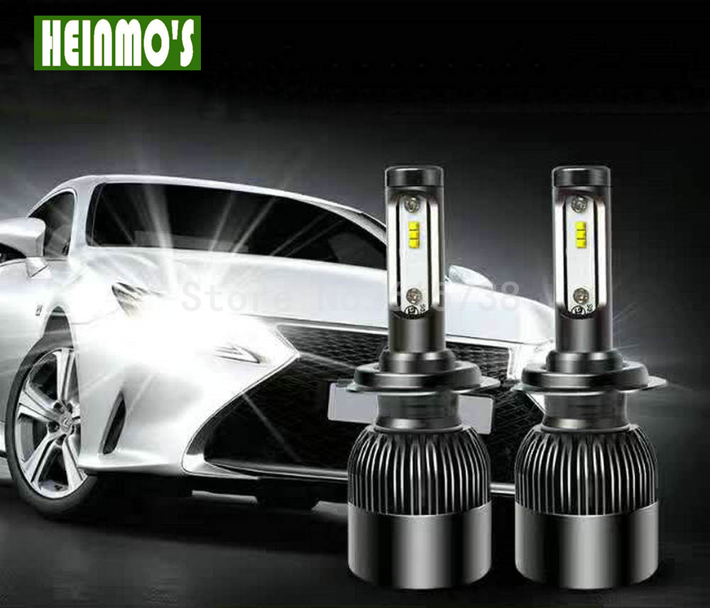 Car Headlight LED Front Lamps H8/H9/H11 72W 6600lm Auto Bulb Headlamp HB3/9005 HB4/9006 H1 H3 9012  H7 H4 6000K White Light  2pcs cars headlight led cob kits h1 h3 h4 h7 h8 h9 h11 hb3 hb4 9005 9006 bulb car front fog lamps car led headlamp car styling