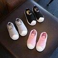 Size21-35 tejido elástico niños shoes casual niño niños y niñas de la escuela de zapatos de ocio de moda zapatillas de deporte respirables kids shoes
