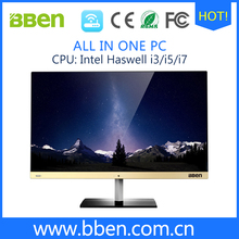 BBen B6 All-In-One PC Windows 10 Intel Haswell i5 RAM 4G SSD 64G HDD 500G All In One Computer 23.8'' Desktop 1920*1080 Gaming PC(China (Mainland))