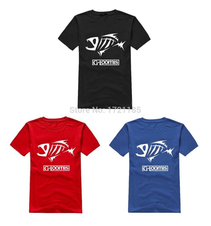 YUAYXEA Mens t shirts fashion 2019G Loomis Mannen T Shirt 100% katoen korte mouw T-shirts Afdrukken O Neck tee shirt Gratis Verzending