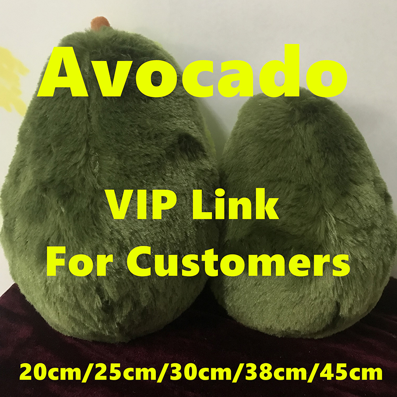 VIP LINK Avocado Fruits Cute Plush Toys Stuffed Dolls Cushion Pillow For Kids Children Christmas Gift Girls Baby