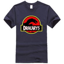 Short Sleeve Dracarys Dragon Game Of Thrones Tshirt Man Short Sleeve O-neck Breathable Sweat 2019 New Arrival Crossfit Plus Size