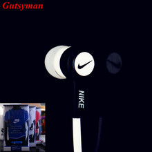 High quality Newest Sport Earhook In-Ear Earphones Headset headphone with mic For iPhone Samsung Xiaomi MP3 Bass for running