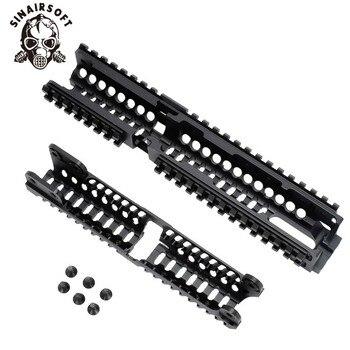 AK 47 التكتيكية رباعية السكك الحديدية Picatinny نظام حرس اليد باستخدام الحاسب الآلي الألومنيوم كامل طول التكتيكية ل AK AEG/GBB بنادق B30 B31