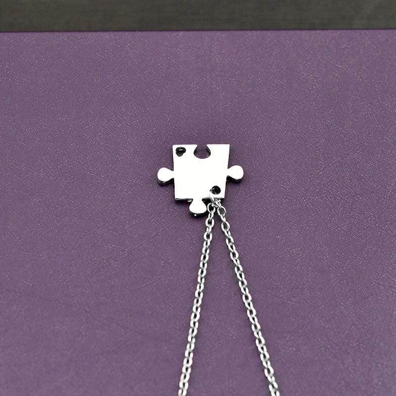 Trendig Ny stil 4 st / set Stitching Bästa Vänner Fyra Bra Sister - Märkessmycken - Foto 2