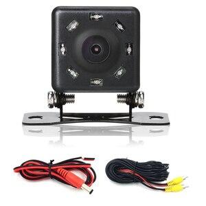 Backup Camera HD 8LED Hight Vision Car Rear view Camera Waterproof Plug Car Reverse image for Parking Car DVD Monitor Player