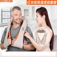 Electric Massage.Machine Shoulder Neck Massage.Shawl Car Home Dual use Acupuncture Kneading Neck Shoulder Massager