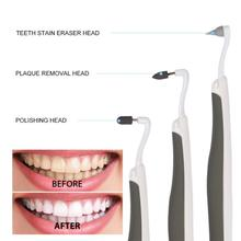 все цены на Ultrasonic Vibration Tooth Whitening Tool Electric Sonic Cleaning Machine Stain Eraser Agent Teeth CW31