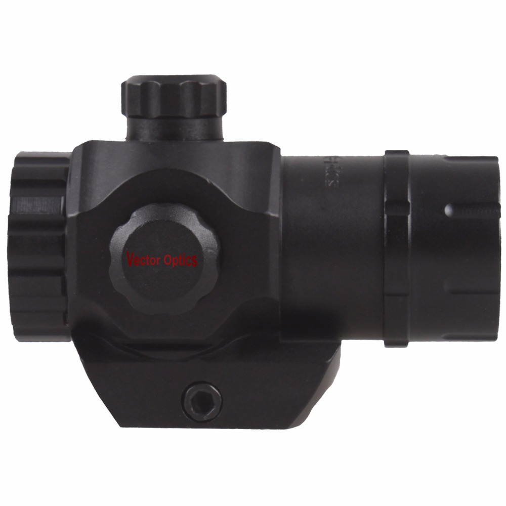 Vector Optics Tactical Harrie 1x22 Mini Red Dot Scope Reflex Pistol Weapong Gun Sight With 21mm Picatinny Mount Base