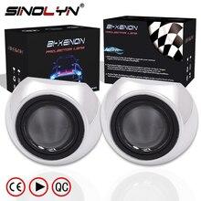 Car Styling Mini 2 5 inch HID Bixenon Projector Headlight Lens Automobiles Headlamp Lenses Retrofit Kit