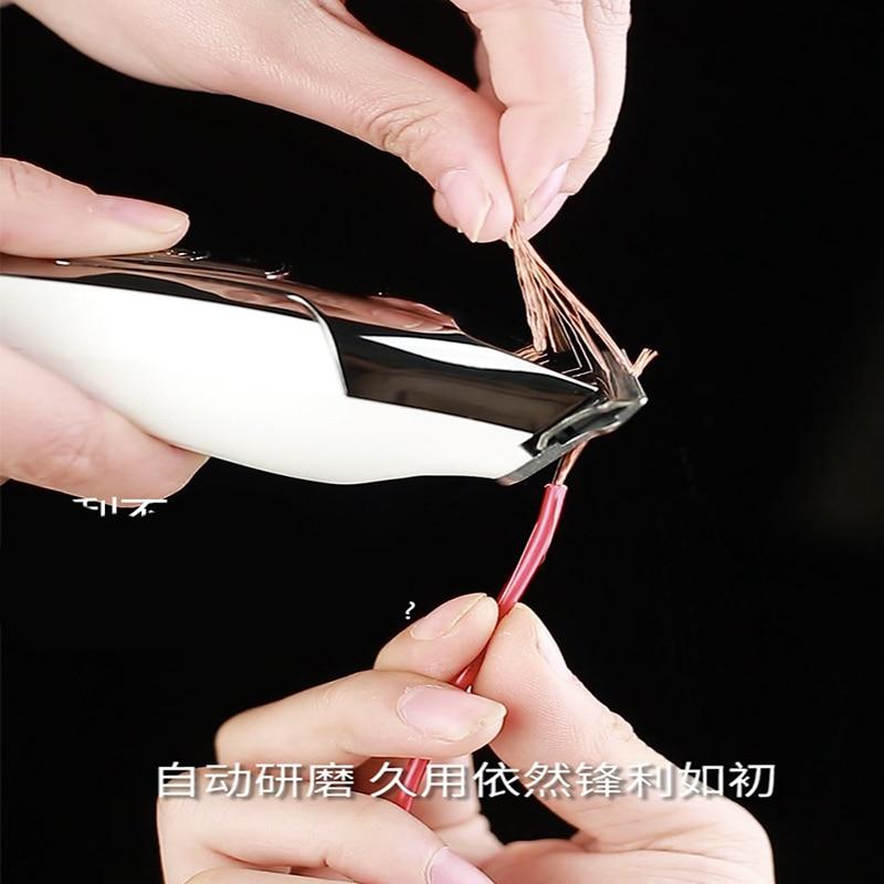 Kemei Barber Professional Hair Clipper LCD Display 0mm Baldheaded Beard Hair Trimmer for Men DIY Cutter Electric Haircut Machine 3