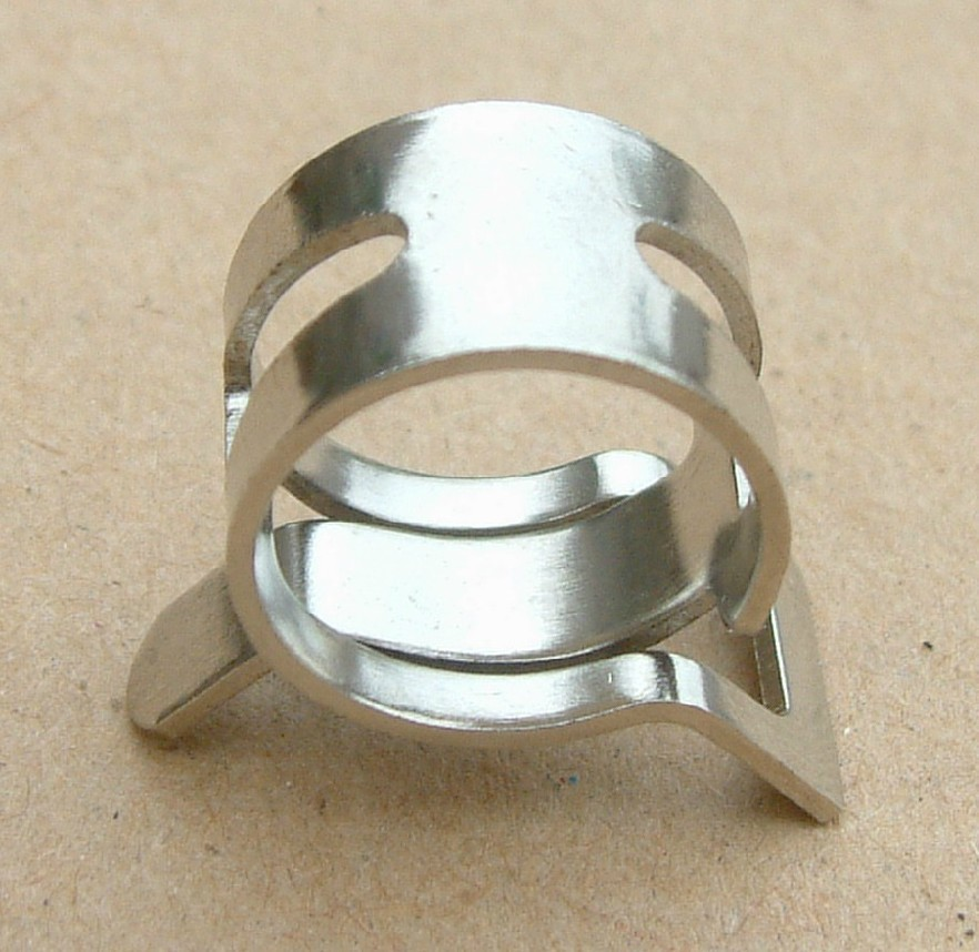 Aliexpress buy mm od hose silver clamps