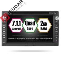 Isudar Car Multimedia Player Android 7.1 2 Din DVD Automotivo For VW/Volkswagen/GOLF/POLO/TRANSPORTER/Passat b5 GPS Radio RAM 2G