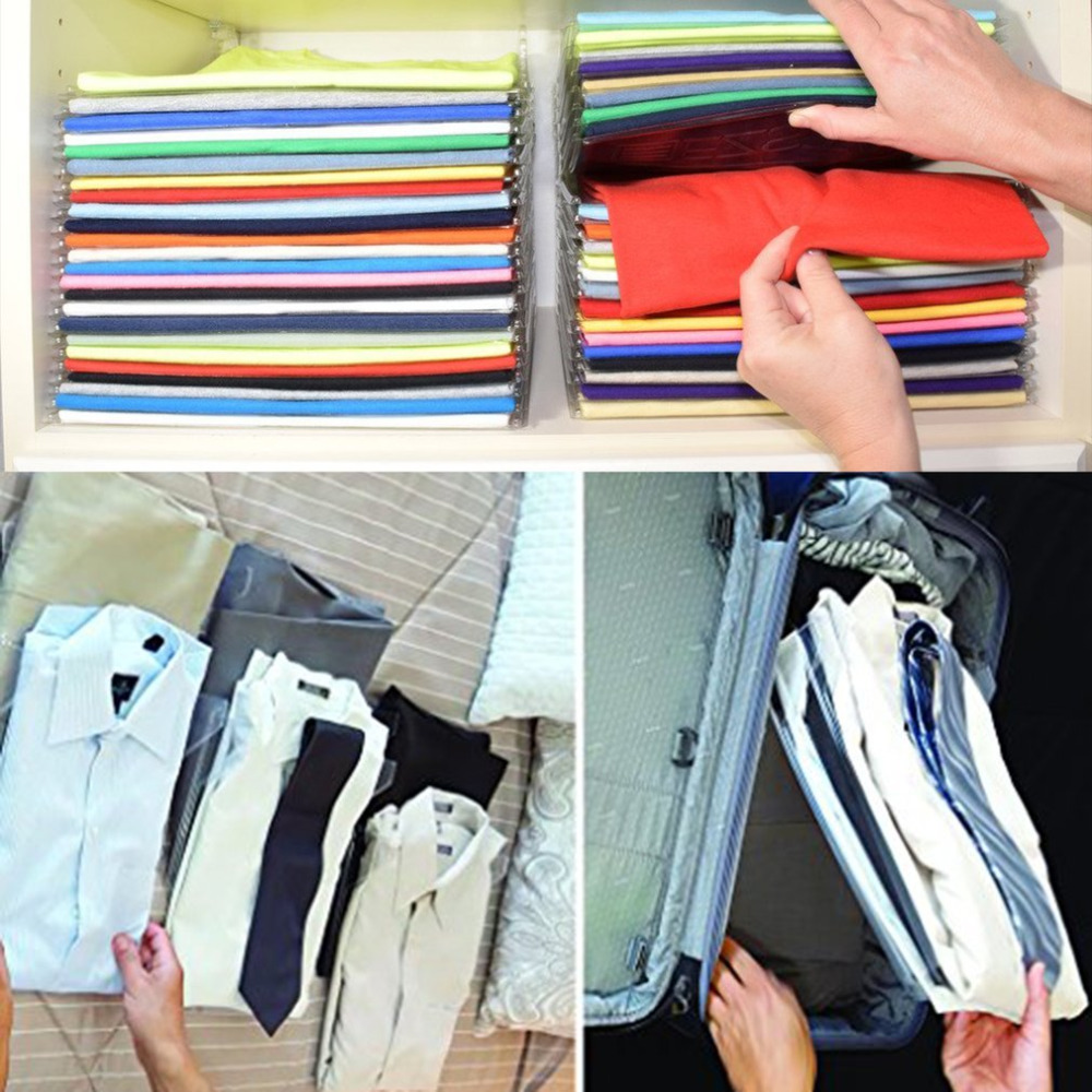 10Layer Clothes Organizer System Closet Organizer Drawer Organization Office Desk File Cabinet Suitcase Shelf Dividers Quality