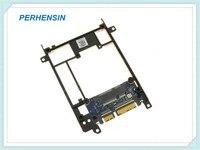 For Dell For Latitude E7440 E7450 mSATA to SATA Adapter Hard Drive Caddy FCN4M