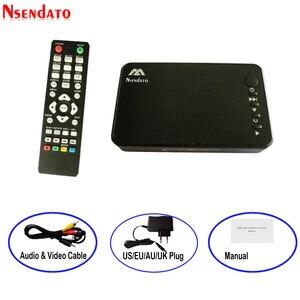 Image 1 - صغير كامل HD وسائل الإعلام متعددة مشغل الوسائط Autoplay 1080P USB الخارجية HDD مشغل الوسائط ل SD U القرص HDMI VGA AV الناتج ل MKV RMVB