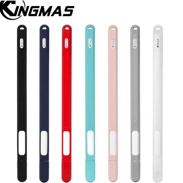 Capa de Silicone macio Para A Apple Lápis 2nd Geração Titular Da Tampa Do Caso Para iPad Lápis 2 Cap Ponta Tablet Caneta de Toque Stylus bolsa Manga
