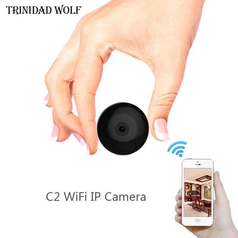 TRINIDAD WOLF C2 Mini Camera HD720P IP IR Kamera Wireless Wearable Micro Camera Motion Sensor Body Camera With Magnetic Clip amandeep kaur parminder singh and ginni sharma micro strip wearable antenna