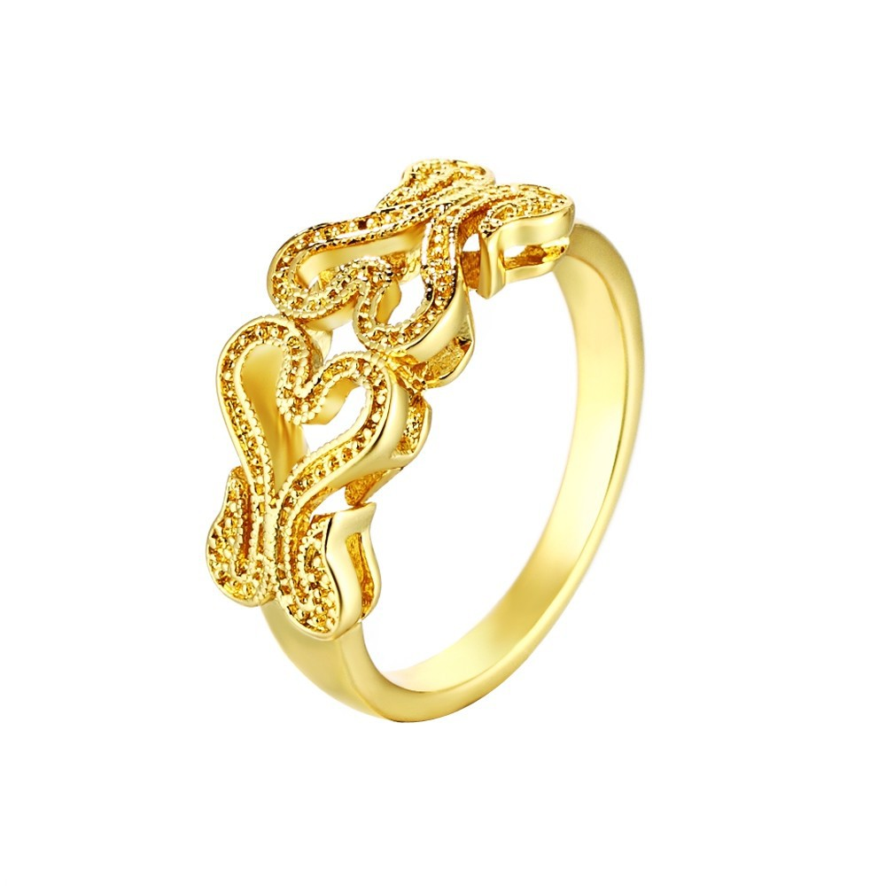 Engagement Rings Sale Rose Gold: Fashion Bijoux Women Wedding Ring Sale Rose Gold Plated