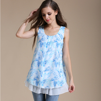 Emotion Moms Summer Chiffon Maternity Clothes Breastfeeding Tops for Pregnant Women Maternity T-shirt Nursing Tank Tops
