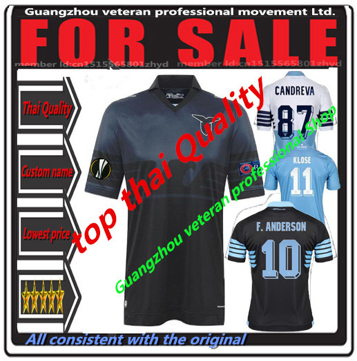 Lazio 2016 soccer jerseys new Lazio jersey 15 16 Europa league respect shirt  Klose Candreva Cavanda jersey Football Shirts 63a86dde6