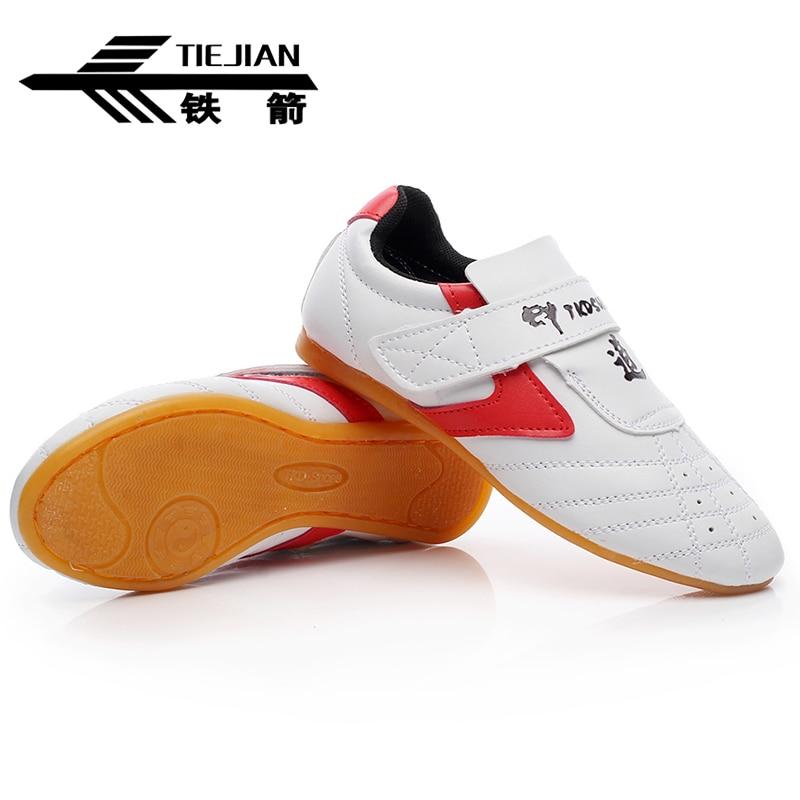 Дышащая обувь тхэквондо для детей и взрослых с мягкой подошвой для тренировок каратэ кунг-фу обувь для боевых искусств женские оксфорды на подошве кроссовки 16