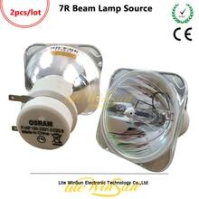 Litewinsune, 2 шт., бесплатная доставка, 7R, 230 Вт, луч, движущаяся головка, свет, источник света, P-VIP 180, 230, E20.6