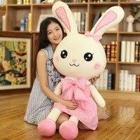 Super Cute Rabbit Doll Plush Toy Soft Stuffed Material Children Girls Birthday Christmas Gifts