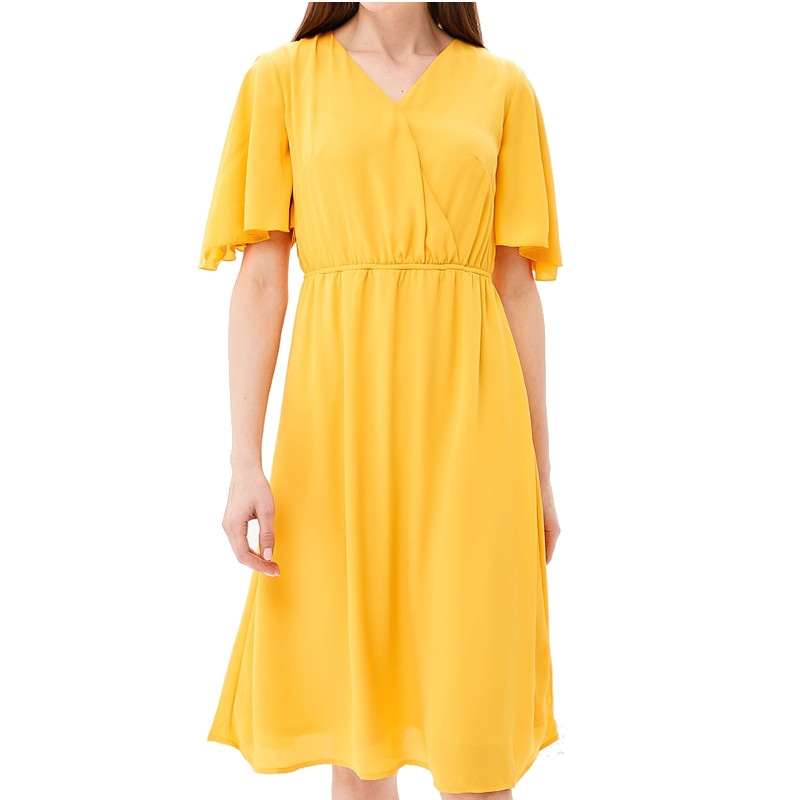 Dresses MODIS M181W00442 women dress cotton  clothes apparel casual for female TmallFS stylish spaghetti strap hollow out white dress for women