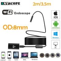 Armgroup Wifi Endoscope Camera Android 720P Iphone Borescope Hard Tube Waterproof Camera Endoscopic Semi Rigid IOS