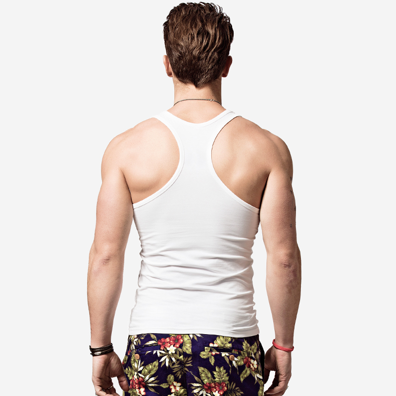 free shipping 6a638 d3fdf mens racerback tank tops
