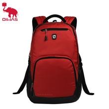 OIWAS ноутбук Бизнес рюкзак легкий Водонепроницаемый traval рюкзак одноцветное Цвет два Цвета для мужчин сумка