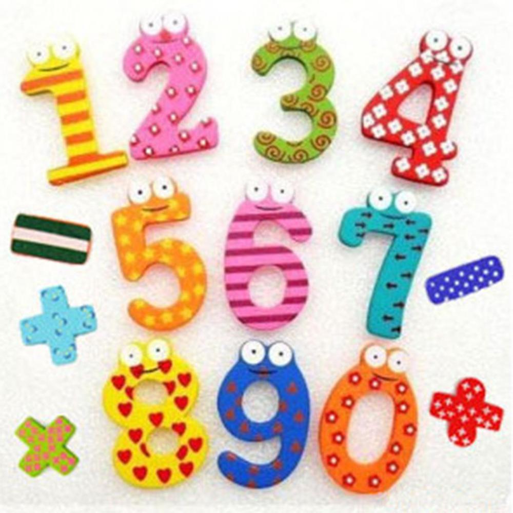 15 adet/takım Numaraları Çocuk Matematik Oyuncak Eğitim Şirin Çocuk Bebek Oyuncak Manyetik Buzdolabı Mıknatısı Ücretsiz Nakliye Için