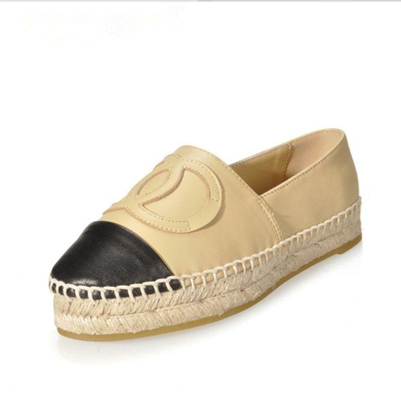 FITOW 2019 nouvelles chaussures Espadrilles en cuir véritable Top qualité respirant sans lacet mocassins chaussures plates décontracté pêcheur chaussures