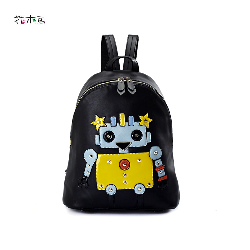 Classic Cartoon Movie EVA Backpack Female PU leather Backpacks Preppy School Bags Backpack For Girls Teenagers