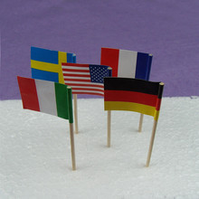 Country toothpick flag for sale, Toothpicks With a flag, Any country all can be customized