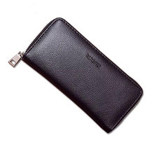 Hot new luxury male Leather Purse Mens Clutch Wallets Handy Bags Business Men Black Brown Dollar Price