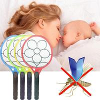Electronic Mosquito Fly Swatter Racket Handheld Swatter Home Killer