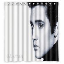 Vixm Home Elvis Presley Super Shower Curtain TV Sports