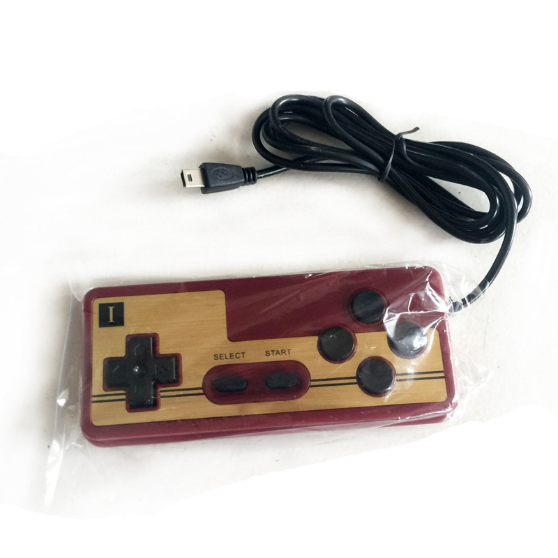100pcs/lot Hot 8 Bit Game Gaming wired Controller Control PAD Gamepad System Console Classic Style 1.5 meter handles