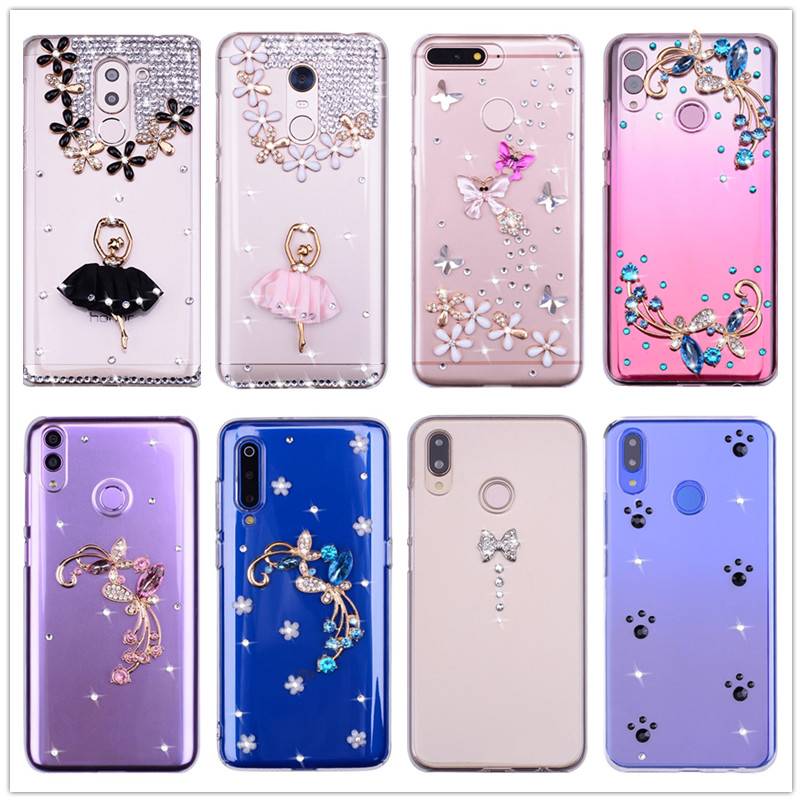 Bling Crystal Case For HTC One A9S E8 X9 X10 M10 M8 Mini A9 Cover For HTC U Play Ultra U11 Life Eyes 10 Evo M9 Plus Coque