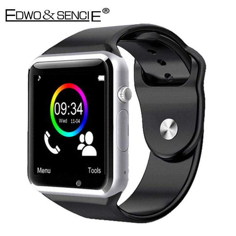 EDWO A1 Bluetooth font b Smart b font font b Watch b font Clock Support SIM