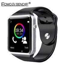 Edwo a1บลูทูธsmart watchนาฬิกาสนับสนุนซิมการ์ดpedometer s mart w atch r eloj inteligenteสำหรับios a ndroid pk dz09 u8 gv08